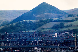 #5621,  Colliery spoil tip above a Welsh village.  Anyone know where this is, please?  I'd love to have a correct and useful ...