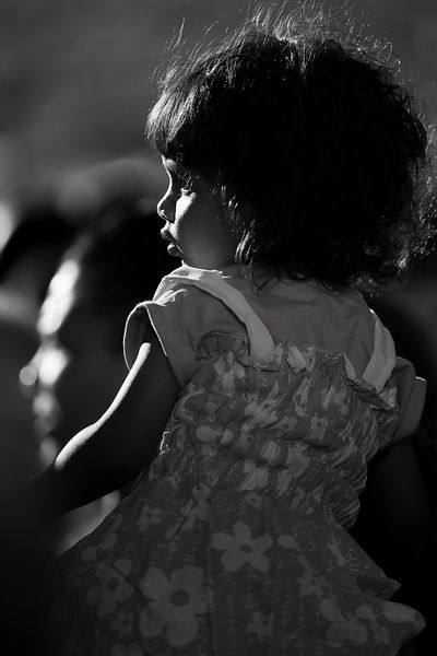 Street Photo - The cute little girl