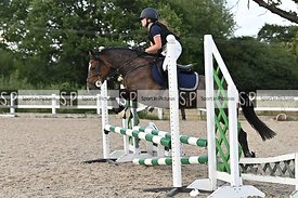 Stapleford Abbotts. United Kingdom. 05 August 2020. Class 4. Wednesday night unaffiliated showjumping. MANDATORY Credit Garry...