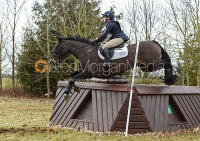Rosalind Canter and PENCOS CROWN JEWEL - Intermediate Sections - Oasby Horse Trials, March 2018.