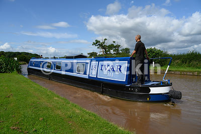 New narrowboat takes to the water.