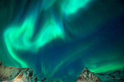 Lofoten Islands Northern Lights, Norway