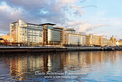 Image - Modern office architecture on the Broomielaw, Glasgow.