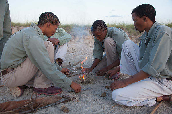 Around the Fire - Botswana 2011