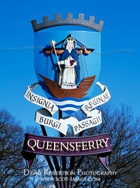 Image - Coat of arms of the Royal Burgh of Queensferry