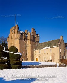 Image - Crathes Castle, Scotland, Winter