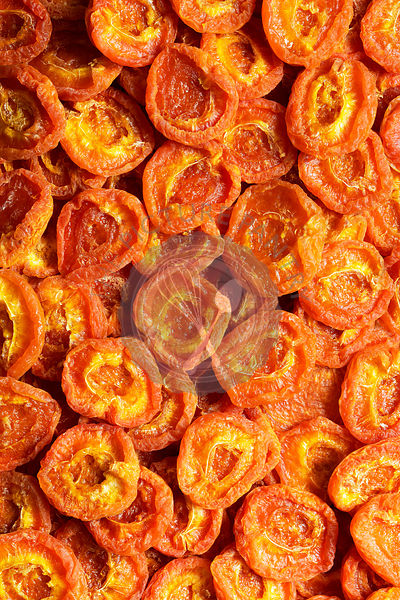 Australian dried apricots; background.