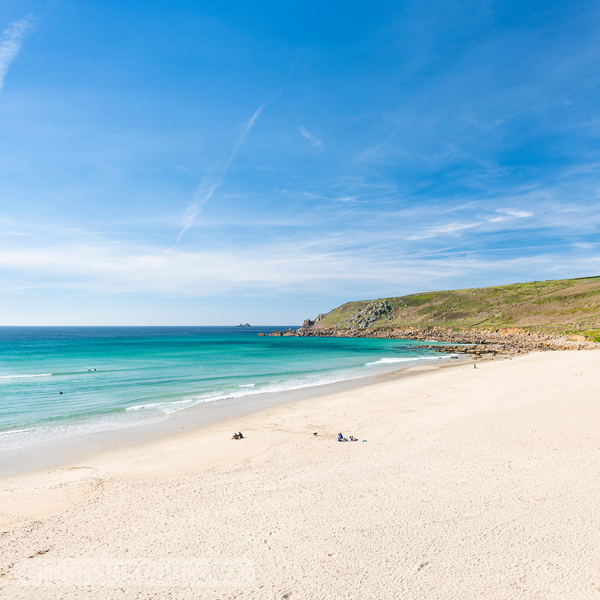 Gwynver (Gwenver) Beach, near Sennen, Cornwall - BP6760