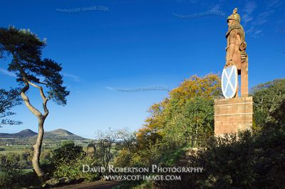 Image - Wallace Monument near Dryburgh, Scotland