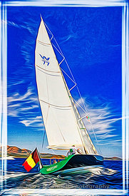 yacht,genie,art,airbrush,painting,frame,poster,photos,images,reflection.paint