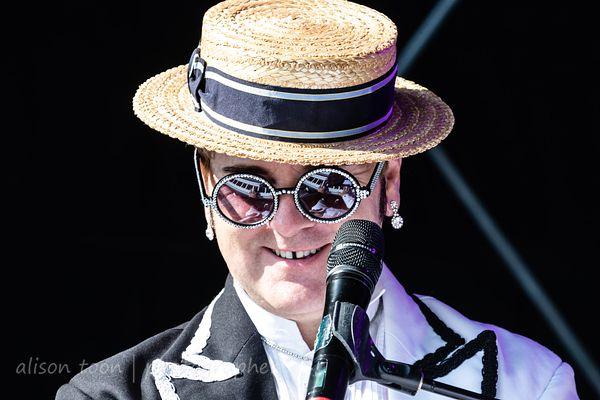 Jimmy Love as Elton John