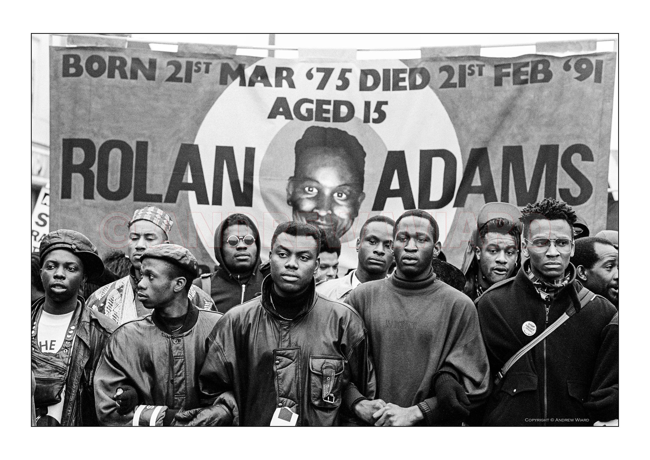 In memory of Rolan Adams