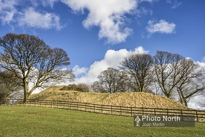 SEDBERGH 15A - Castlehaw motte and bailey
