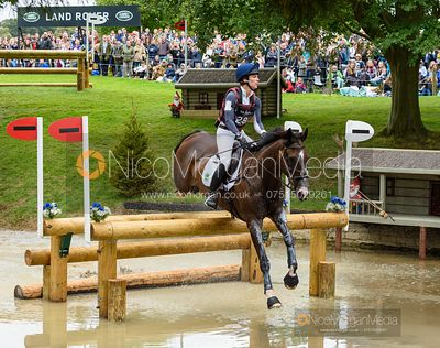 Ariel Grald and LEAMORE MASTER PLAN - Cross Country - Land Rover Burghley Horse Trials 2019