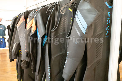 Bodysuits on sale in the Ironman village