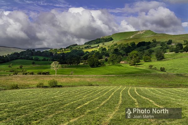 RAYDALE  05A - Ploughed field and Crag