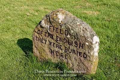 Image - Field of the English gravestone, Battle of Culloden