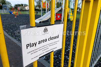 Council run children's play area closed