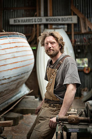 Ben Harris, Boatbuilder