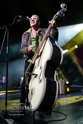 The Stray Cats in concert at the O2 Academy, Birmingham, United Kingdom - 23 Jun 2019