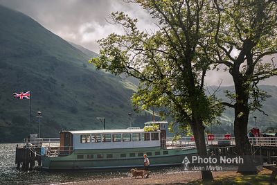 GLENRIDDING 05A - Lady wakefield at Glenridding Pier