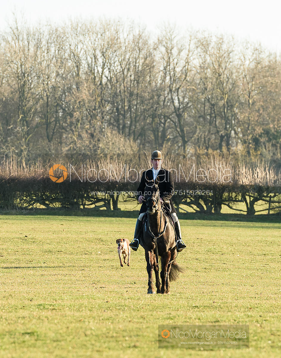 Angus Smales at Gossage's. The Cottesmore Hunt at Ladywood Lodge