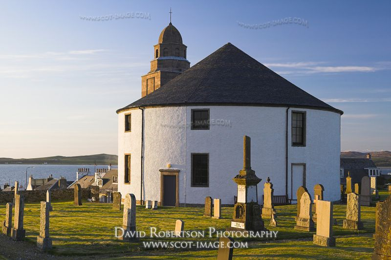 Image - The Round Church of Bowmore, Isle of Islay, Scotland