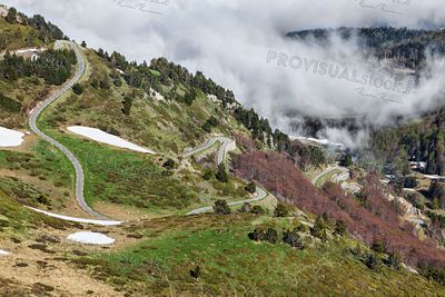Road to Col de Pailheres