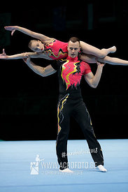 WCH Mixed Pair Qualification Ukraine - Dynamic