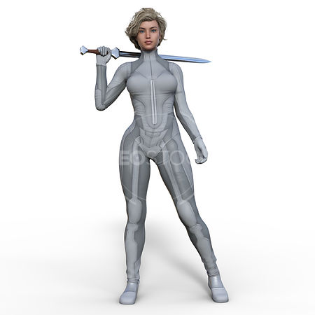 CG-figure-sci-girl-grey-neostock-19
