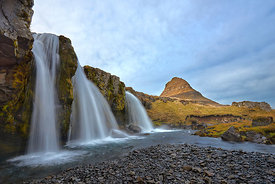 Iceland art for sale | Kirkjufell waterfalls