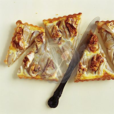 Apple and Nougat tart