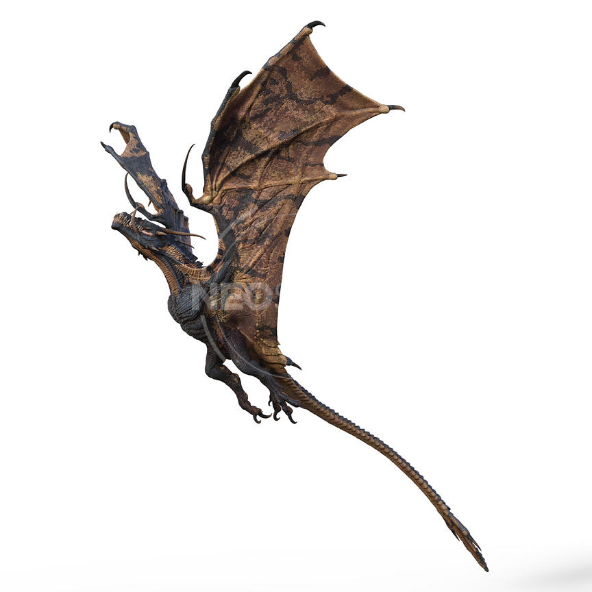 6-CG-creature-ultimate-dragon-wyvern-neostock