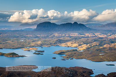 Suilven and Loch Sionascaig - BP6823