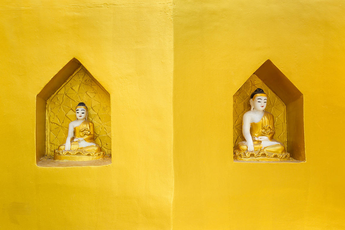 Buddha In Yellow
