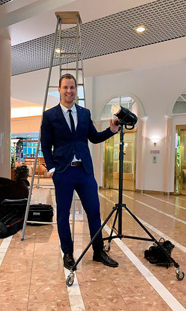 peter-sebastian-preparing-photoshoot-for-the-central-bank-of-finland-suomen-pankki-groupshot