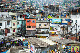 Rocinha No.5  Brazil 2014:   Photographer Neil Emmerson:  Edition of 25.
