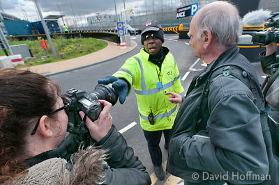 G4S private police assault and harrass photographers. Olympic Park Saturday April 21, 2012