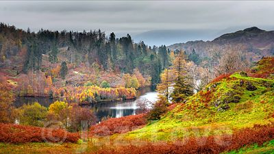 Autumn in Lake District.
