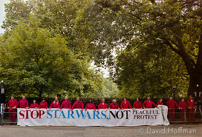01081301-29 Greenpeace Anti Star Wars Protest