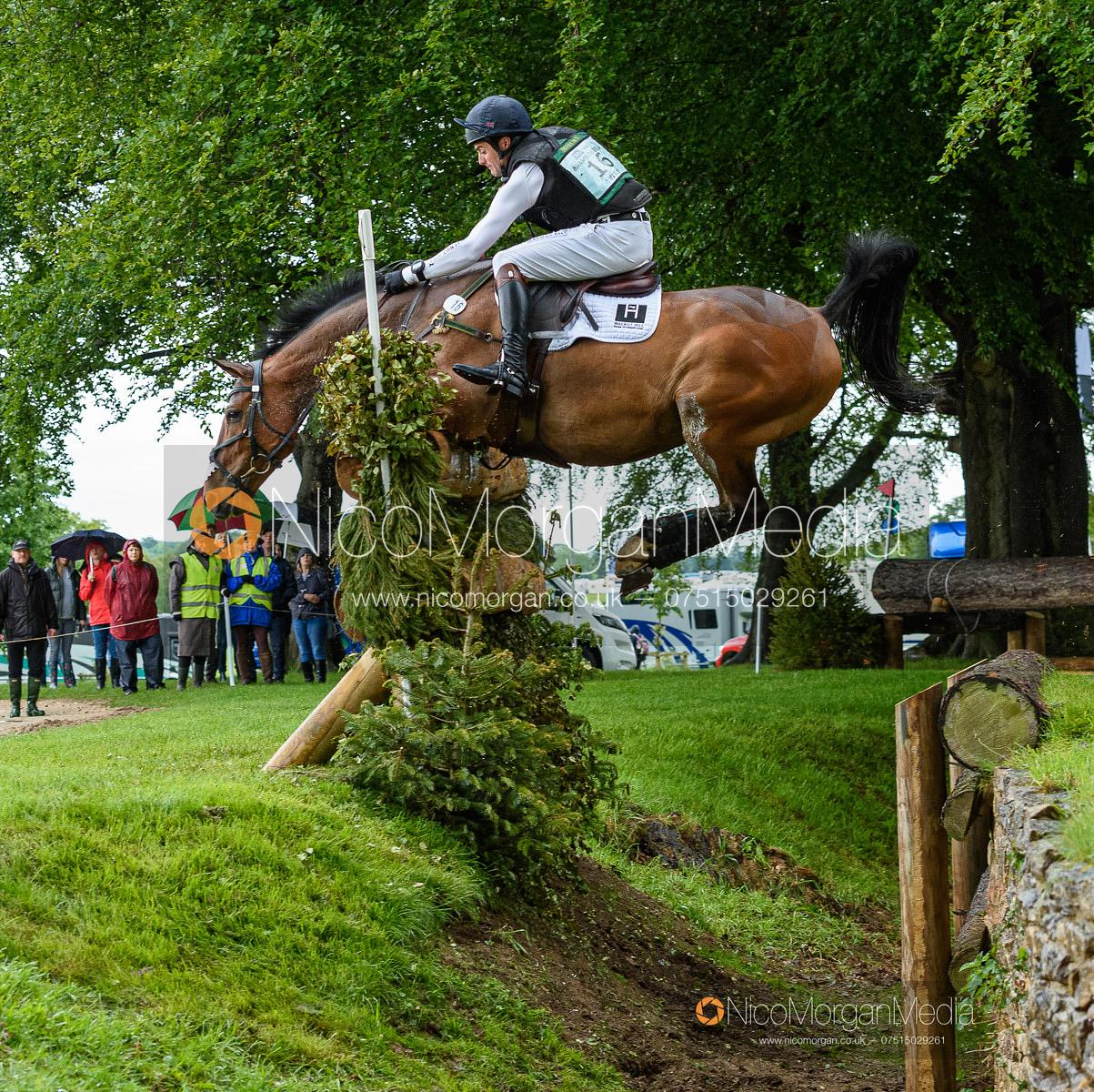 Ben Way and ENDURO A DALRIADA, Equitrek Bramham Horse Trials 2019