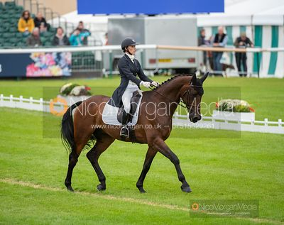 Dee Kennedy and CHEQUERS PLAYBOY - Dressage - Land Rover Burghley Horse Trials 2019