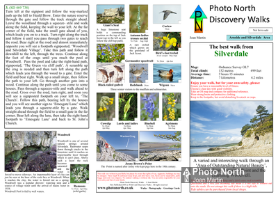 Silverdale walk download - Two page PDF file