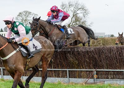Billy Chatterton and MINELLA FRIEND - Race 2 - Confined - The Midlands Area Club at Thorpe Lodge 26/1