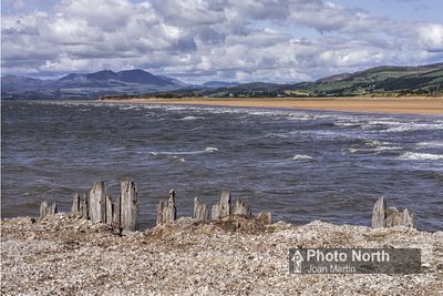 ASKAM IN FURNESS 06A - Northerly view from Askam Pier