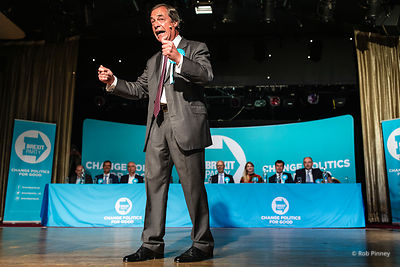 Brexit Party Rally, Frimley