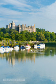 Arundel Castle from the River Arun - BP2524