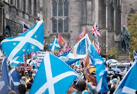 All Under One Banner March, Edinburgh, 5 October 2019