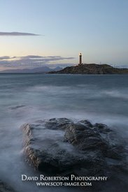 Image - Arnamurchan Lighthouse at dusk