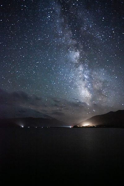 Milky way over Karakul lake, Xinjiang, China